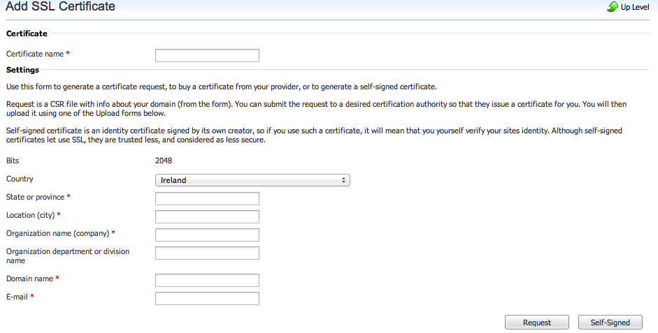 Adding An Ssl Cert To Your Domain Knowledgebase Elive Ltd