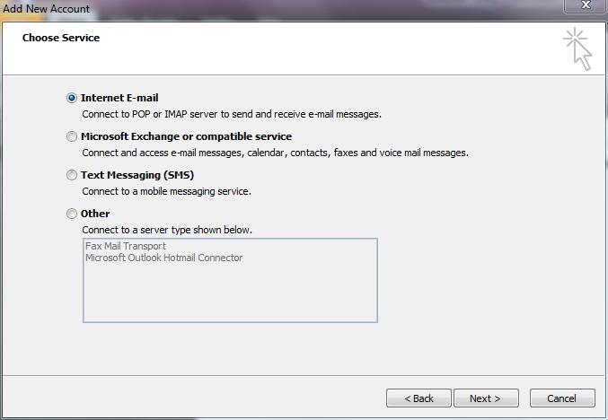 Email Setup Guide - Outlook 2010 - Knowledgebase - Elive Ltd